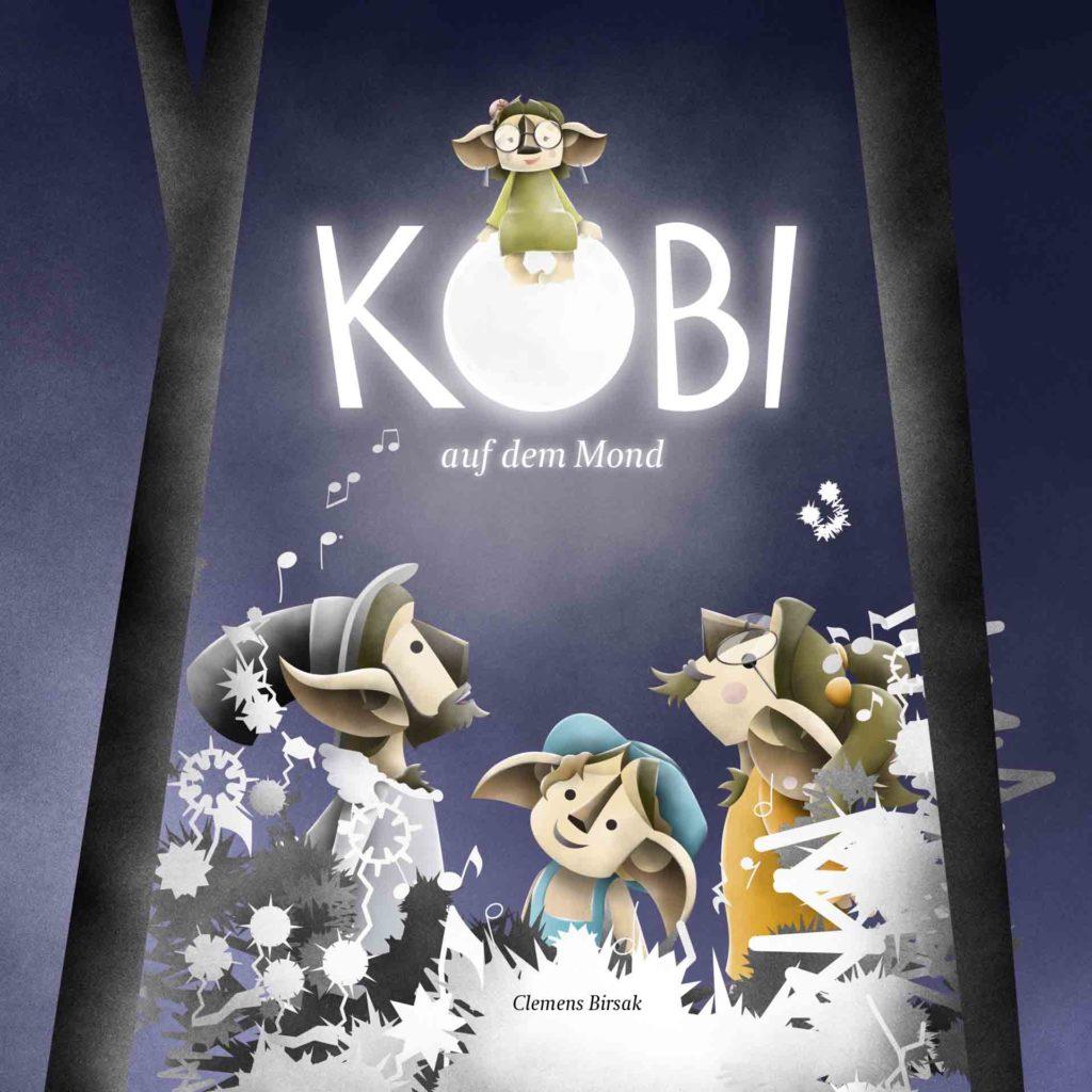 Cover Kobi auf dem Mond